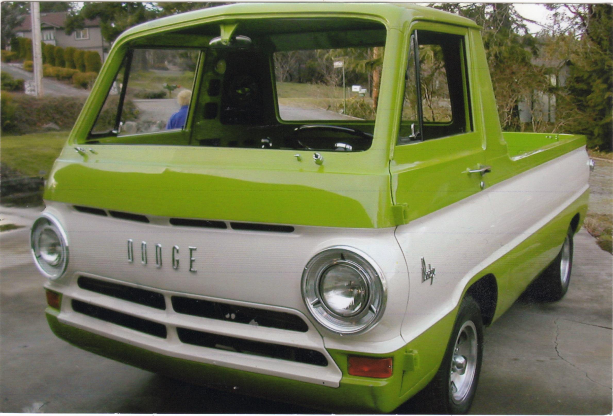 Chuck & Carol Stone 66 Dodge A100 PU
