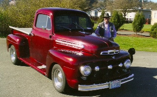 Jim Smith 51 Ford Pickup