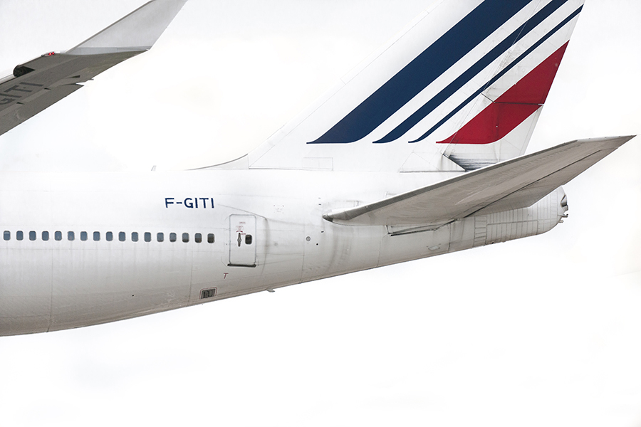 The Laird Co Air France 747 Tail white out aviation avgeek airplane airline photography for site.jpg