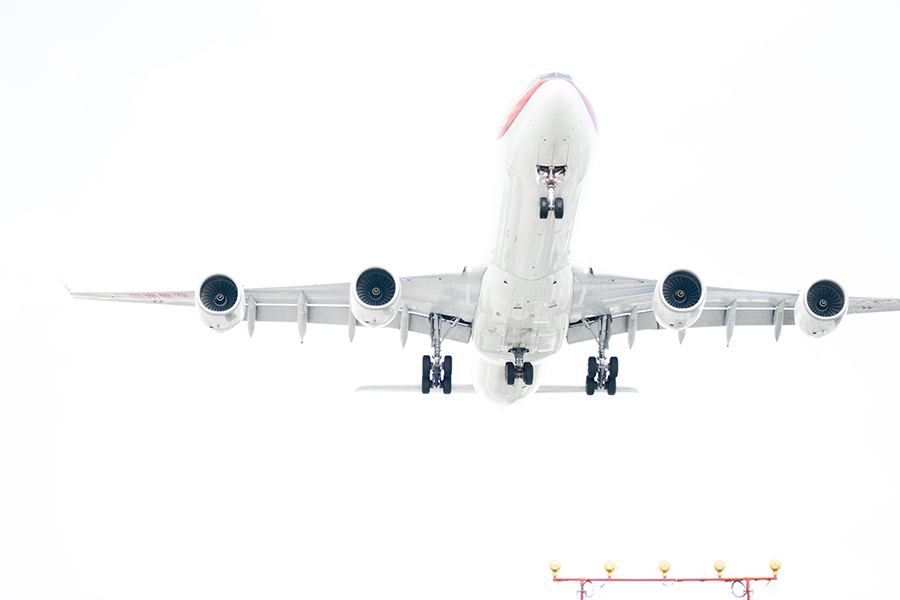 The Laird CO Hainan A340 Airbus White Out landing aviation avgeek airplane airline photography for site.jpg
