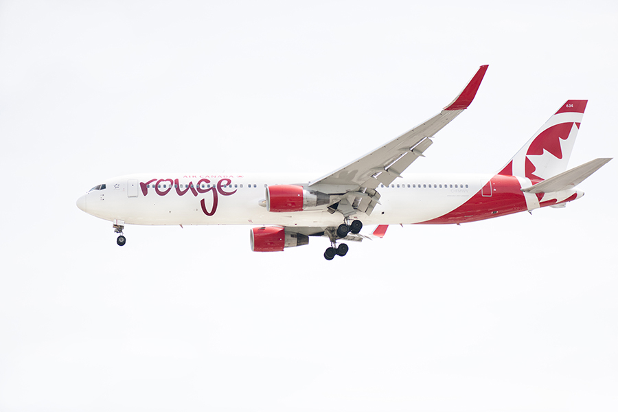 The Laird Co ROuge Boeing 767 white out winglet aviation side airplane airline photography for site.jpg