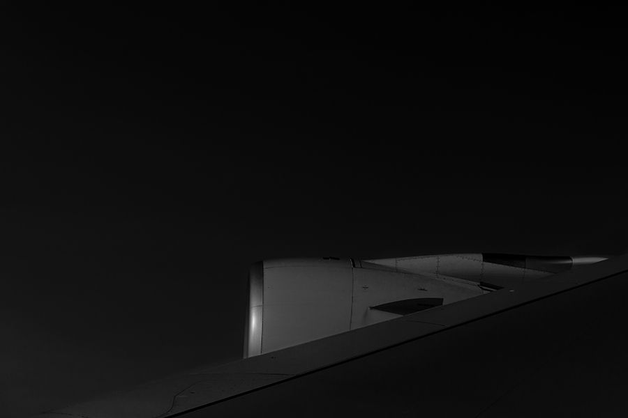 THe Laird Co Singapore Airlines A380 wing engine black and white aviation avgeek airplane airline photography for site.jpg