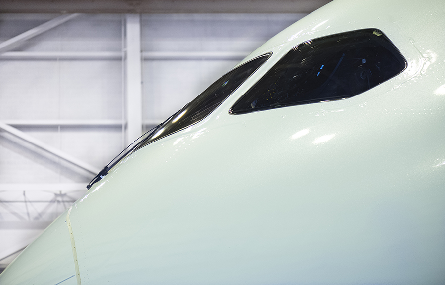 THe Laird Co Air Canada B787 Nose detail profile aviation avgeek airplane airline photography for site.jpg