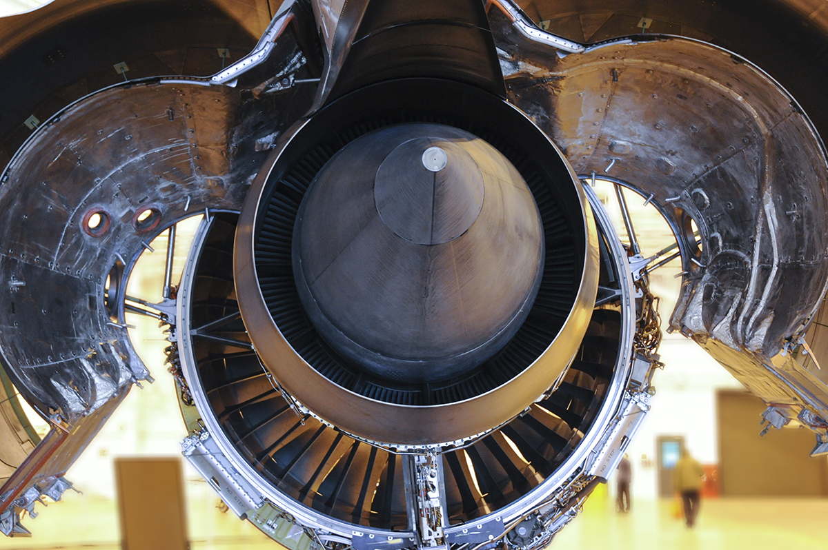 The Laird Co Boeing 787 Engine with cowlings raised Aviation Avgeek Airplane Airline Engineering Photography for site.jpg