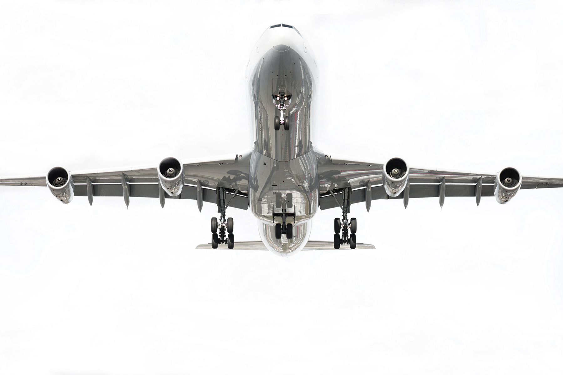 The Laird Co Lufthansa Airbus A340 White Sky Airplane Airline Avgeek Aviation Gear Down Photography for site.jpg