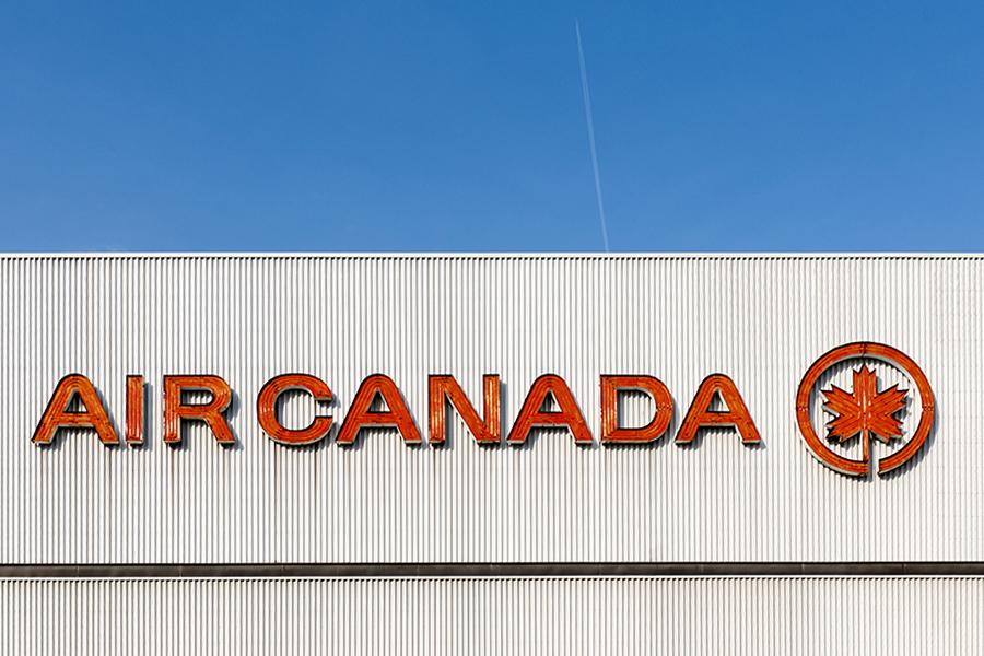 The Laird Co Air Canada Hangar Architecutrect Logo Aviation Avgeek Facade photography for site straight.jpg