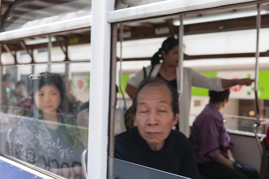 Hong Kong Tram Portrait No. 3