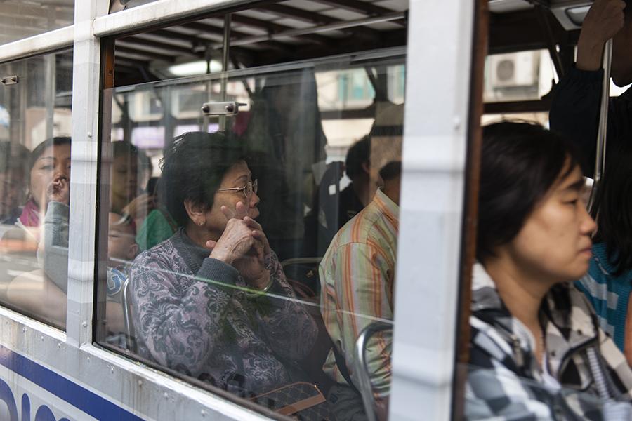 Hong Kong Tram Portrait No. 7