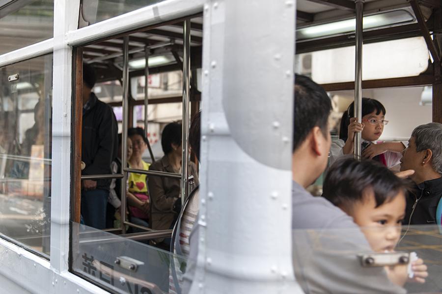 Hong Kong Tram Portrait No. 6