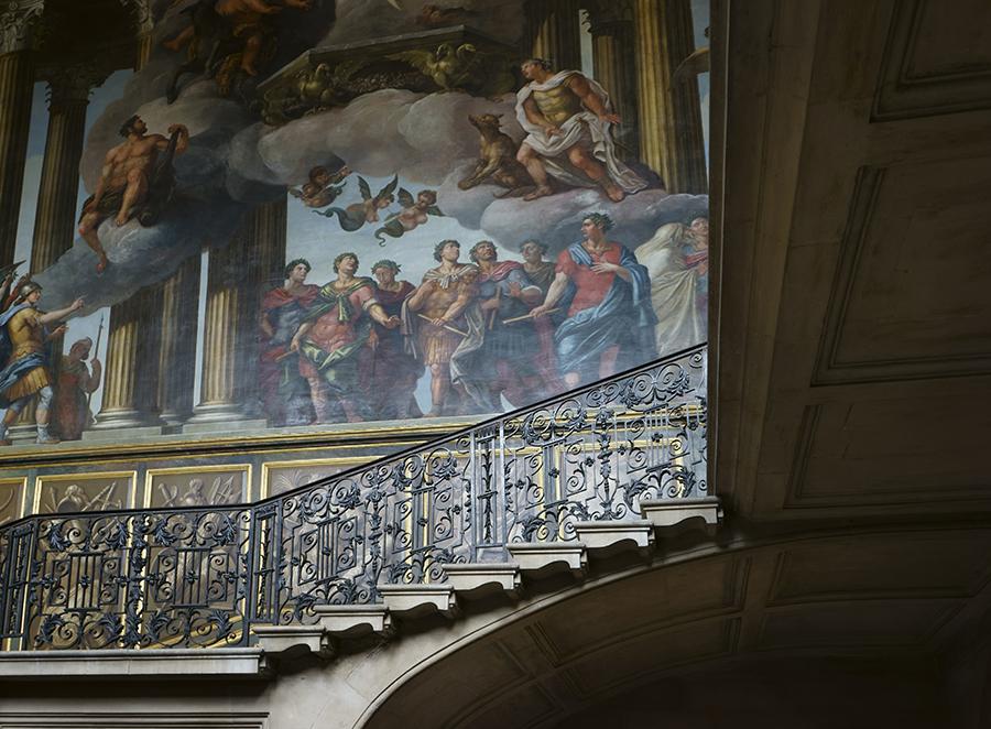 Hampton Court Interior No. 3