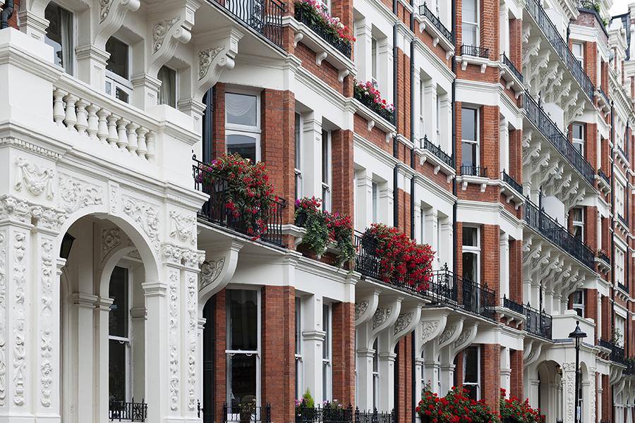 Facades of London No. 1