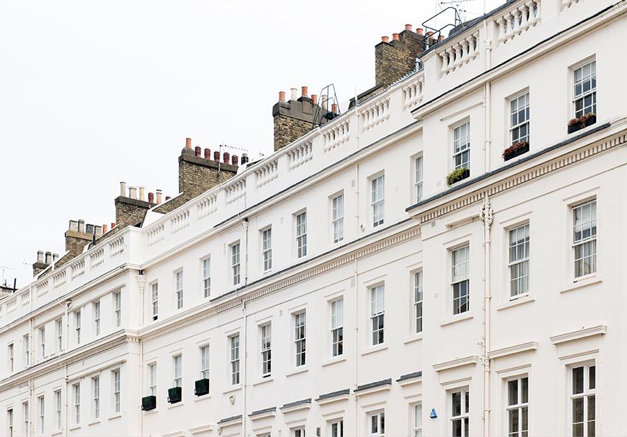 Facades of London No. 2