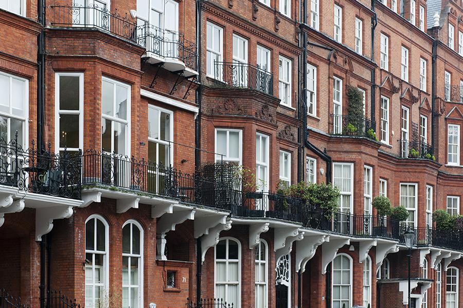 Facades of London No. 12