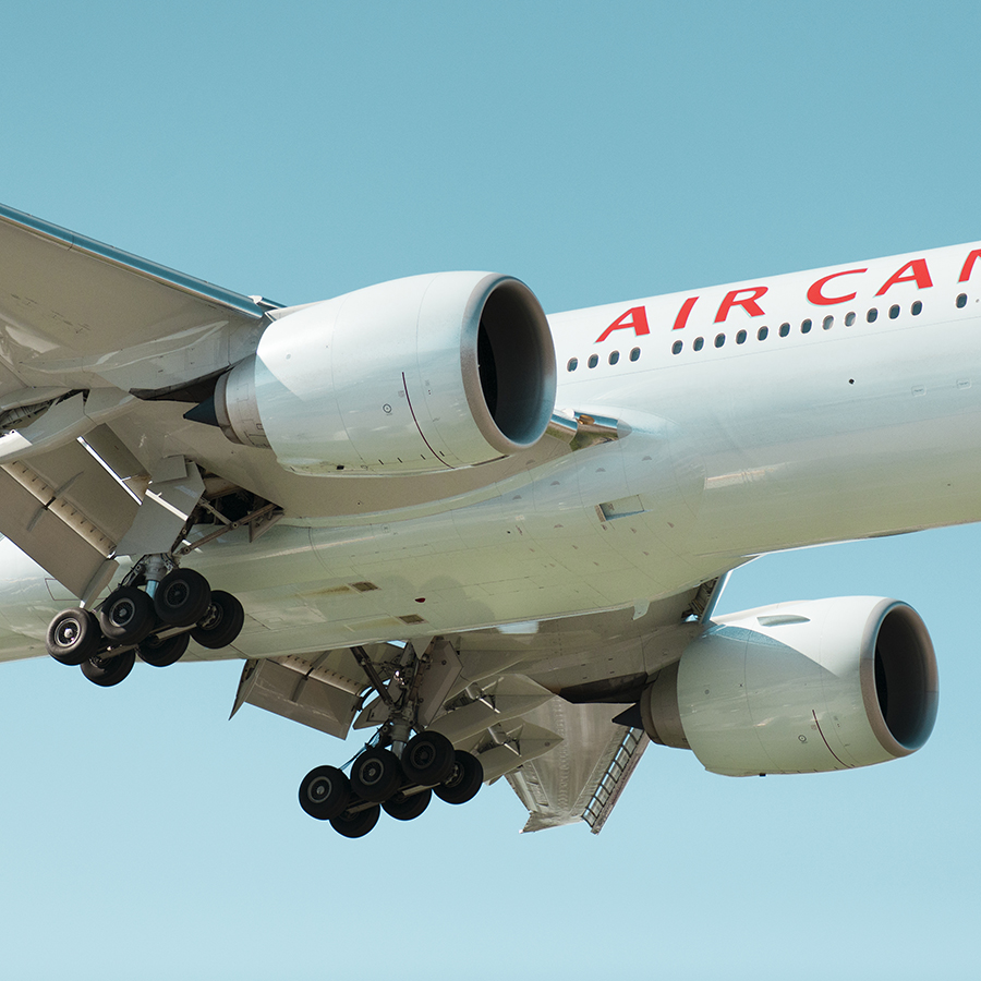 The Laird Co Air Canada Boeing 777 Side Landing Gear Wing TIp Aviation Avgeek Airplane Airline Photography for site.jpg