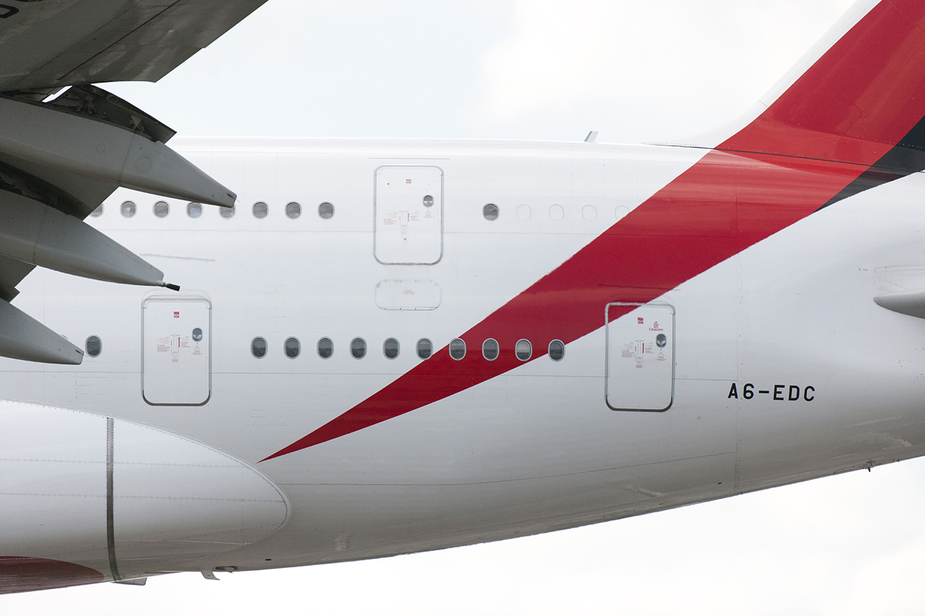 The Laird Co Emirates A380 Tail windows side aviation avgeek airplane airline photography for site.jpg