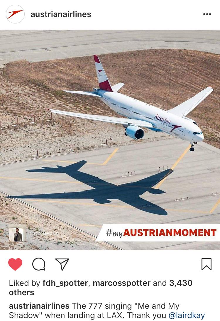 Austrian Airlines Laird Kay repost.jpg