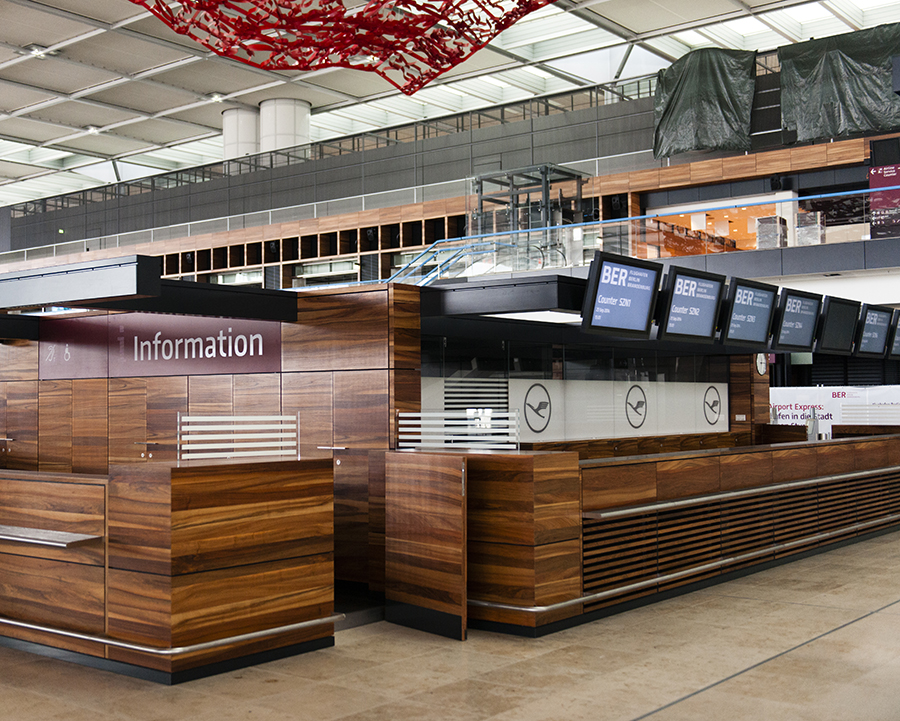 The Laird Co BER Information Desk AIrport INterior aviation avgeek photography for site.jpg