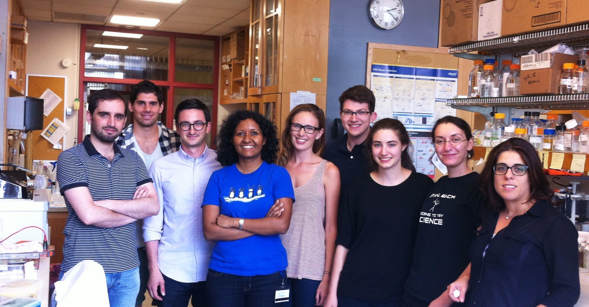 Summer Lab Photo 2014