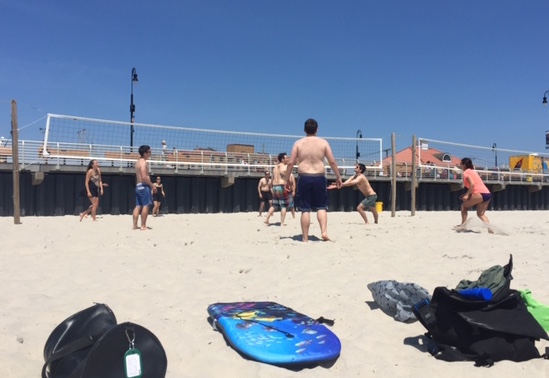 Lab Volleyball - Beach Day - August 2016