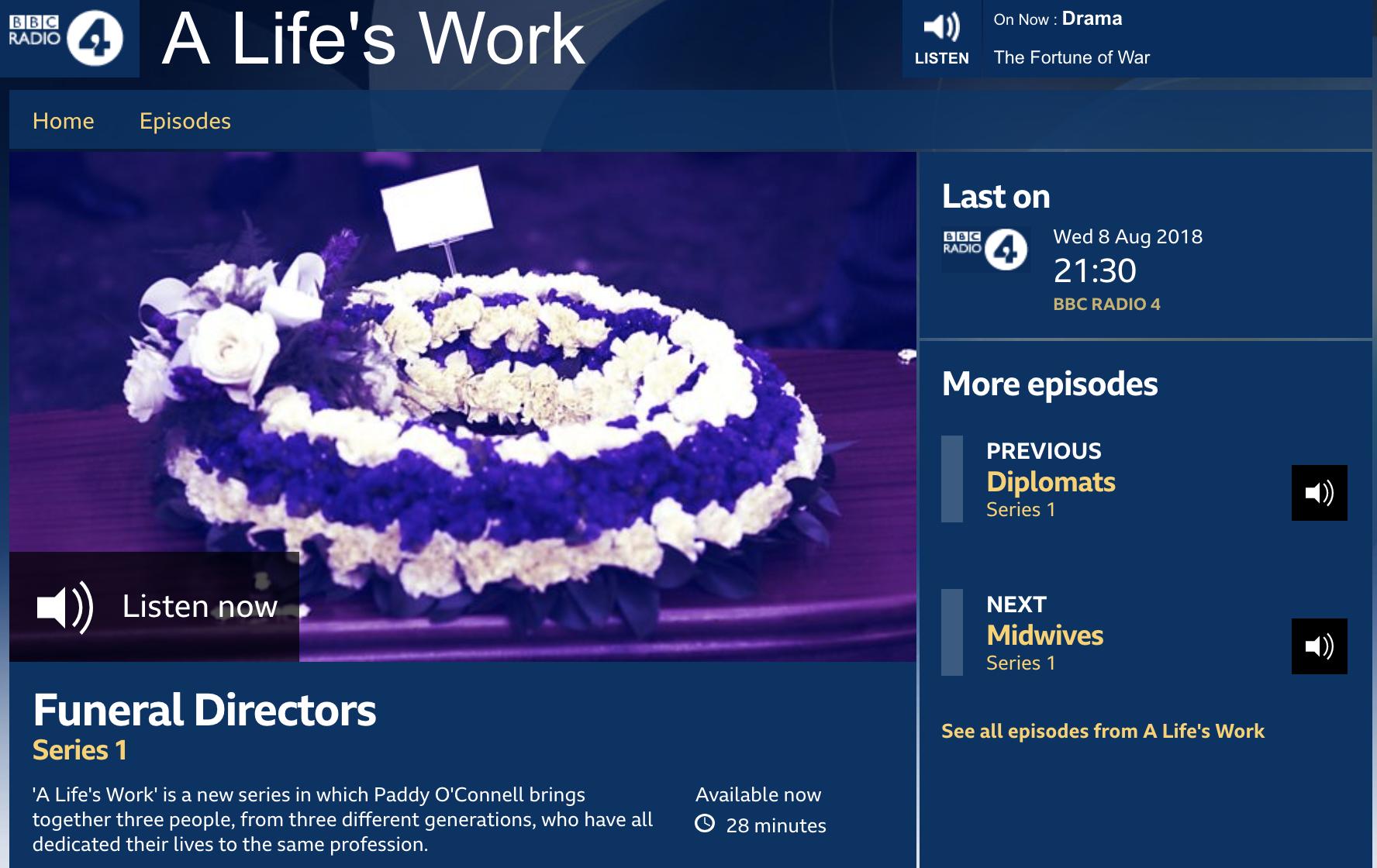 BBC Radio 4 - Funeral Directors