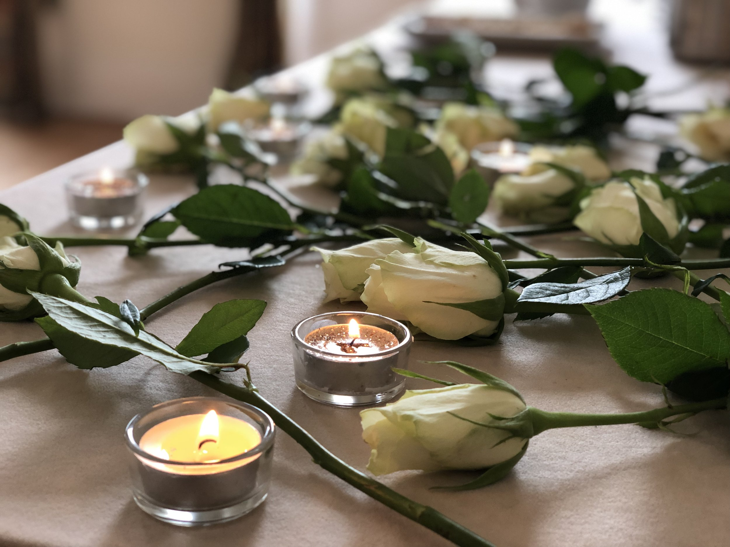 Spending time with the person who has died