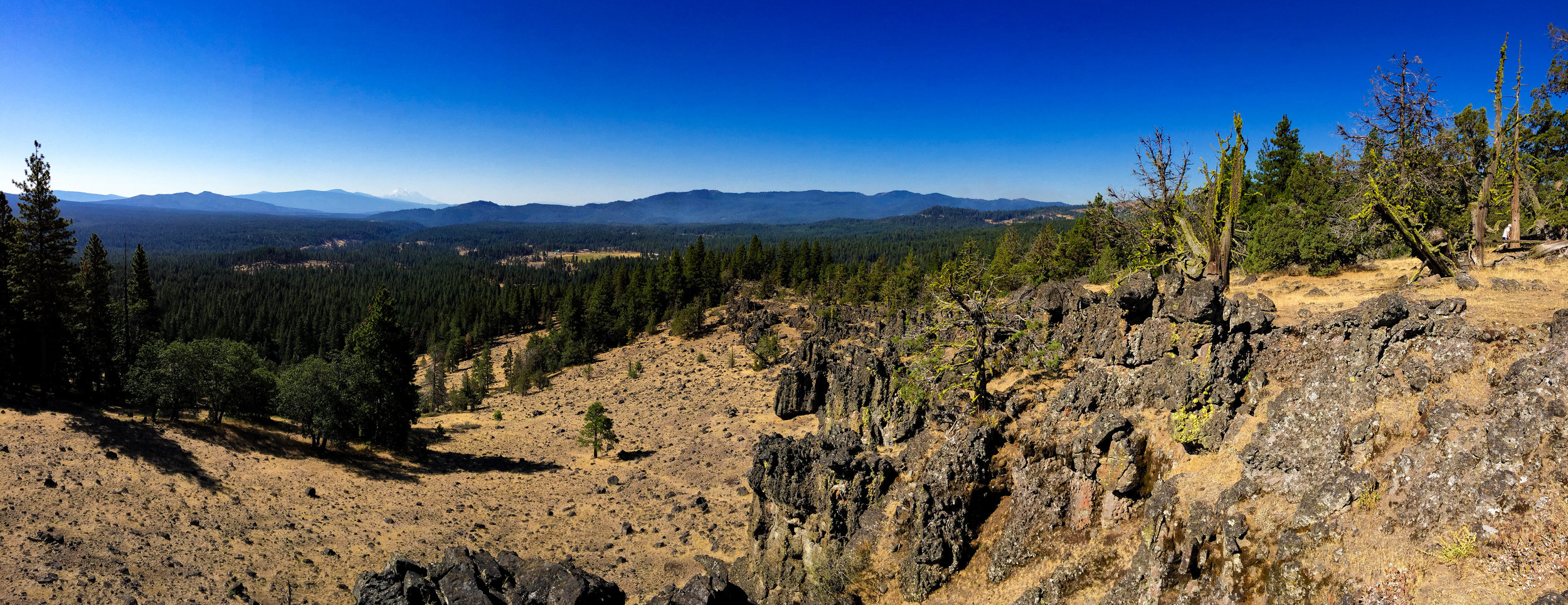 View from one of the hiking trails