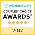 Wedding Wire Couples' Choice Winner 2017