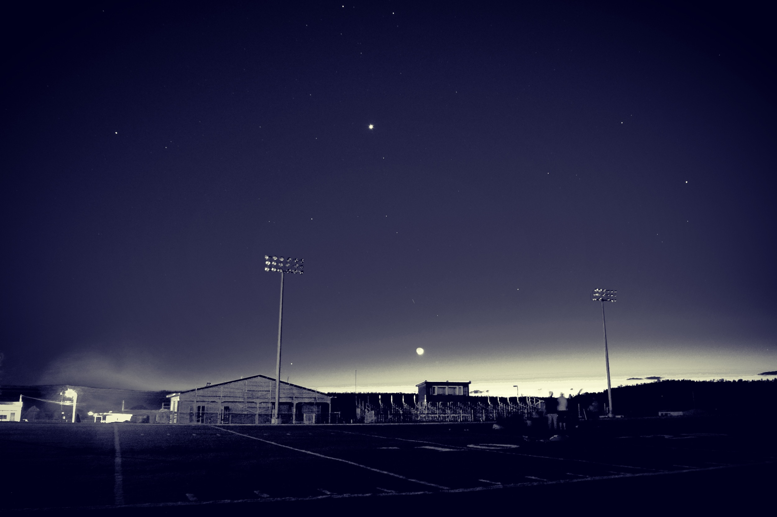 Stargazing at Cuba Middle School