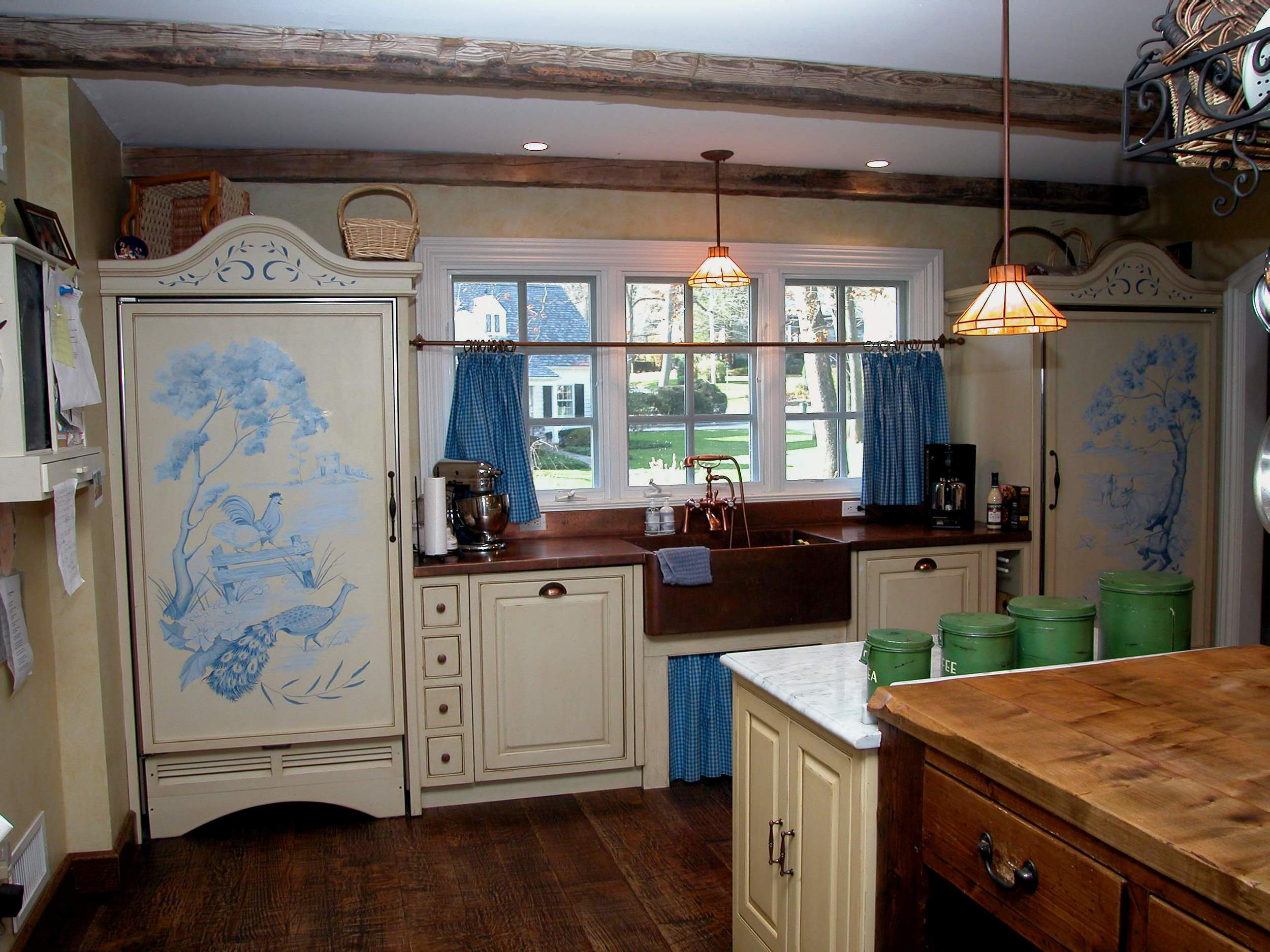 French country eclectic
