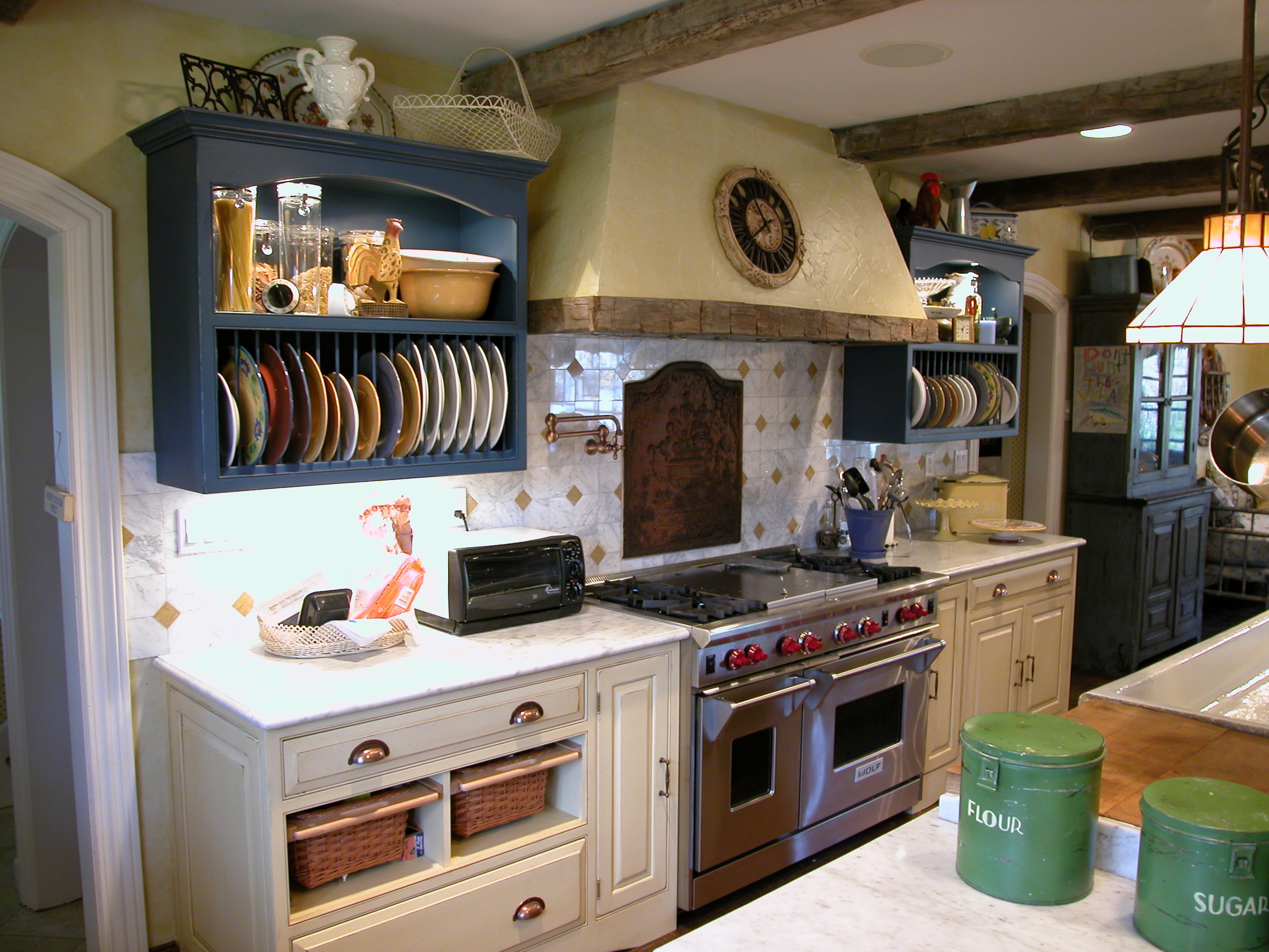 Eclectic French Kitchen