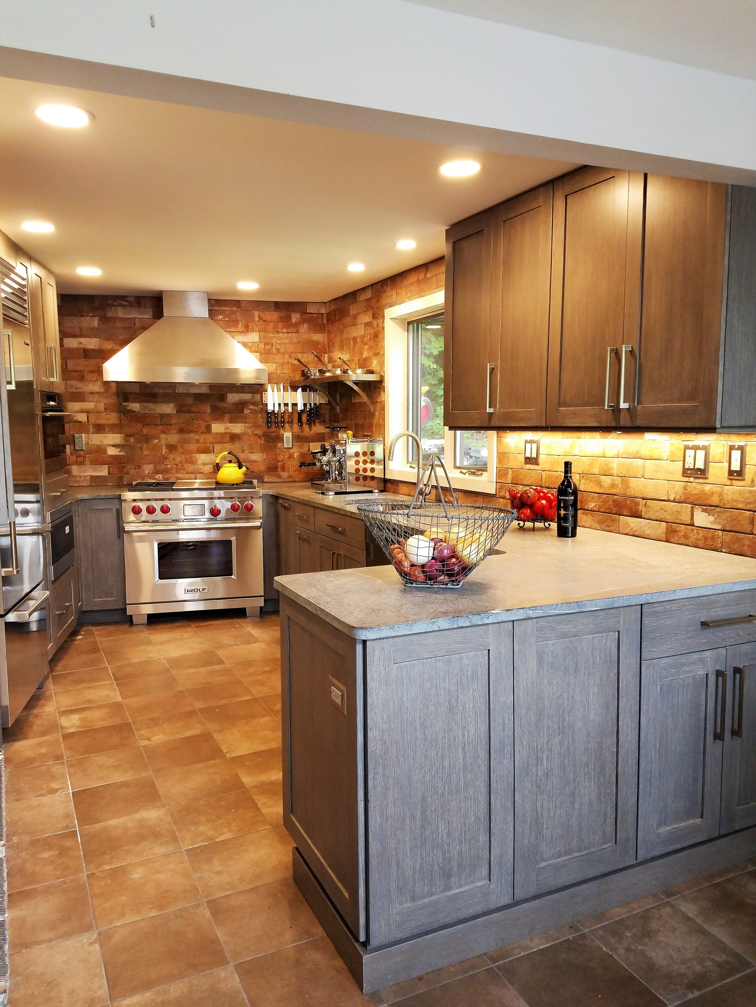 Contemporary Rustic Kitchen in Grey and Brown - I found Arthur Zobel on Houzz. It was the best