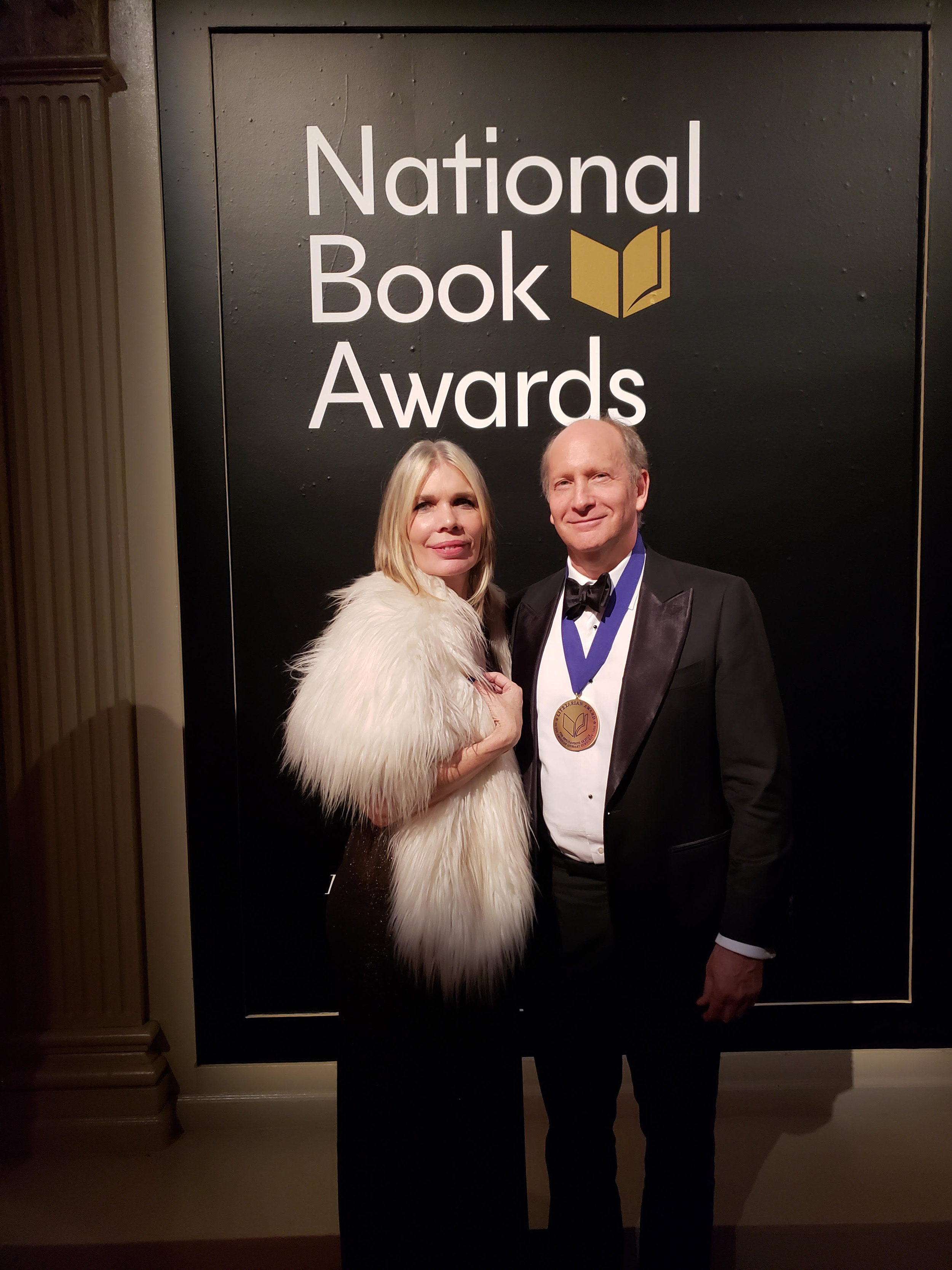 Congratulations to Writers Room board president Doron Weber who was presented with the  National Book Foundation 's 2018 Literarian Prize for Outstanding Service to the American Literary Community on November 14th, 2018. Here he is with Writers Room Executive Director Donna Brodie, who was honored to be a guest at his table!