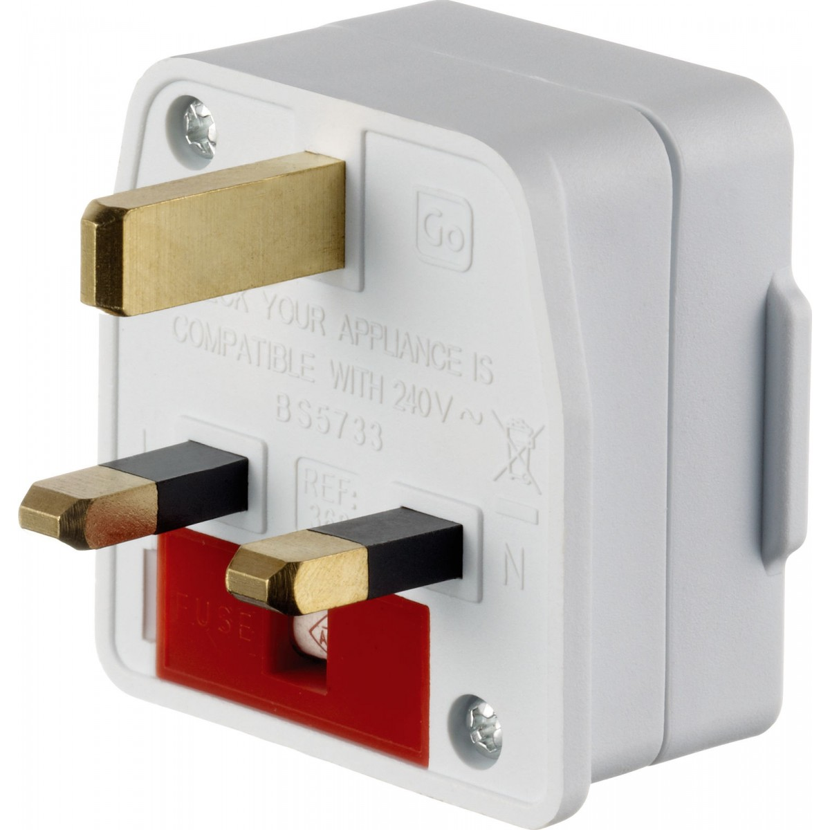 Male Side of UK Adapter