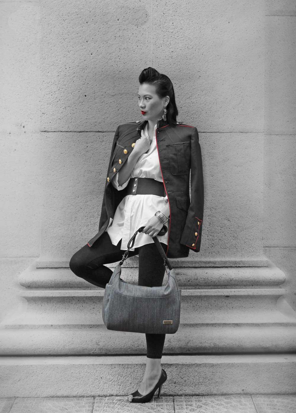 Woman-modeling-packsafe-bag