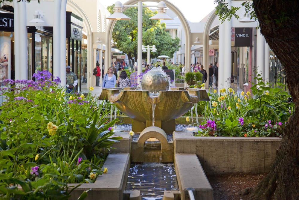 Stanford Shopping Center Ball Fountain