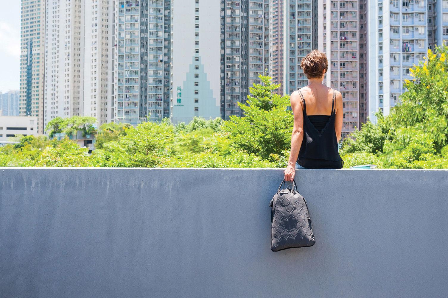 pacsafe bag gray travel