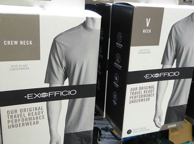 We carry @exofficio clothing and underwear #exofficio #Paloalto #stanfordshoppingcenter #paloaltoca #shopsmall #lovegoinginstyle