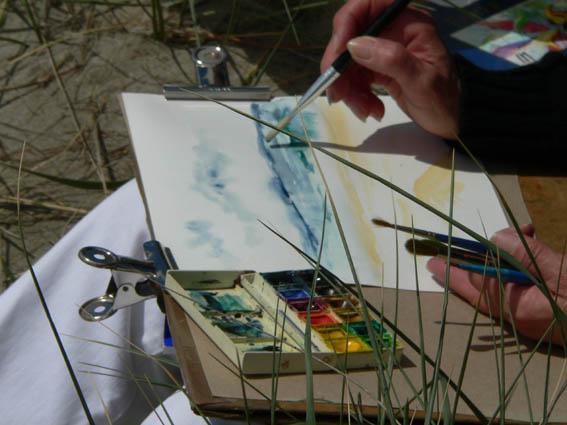 Zeichenkurse,Malkurse,Provence,Aquarell, Kreativurlaub, Kreative Kurse, Frankreich