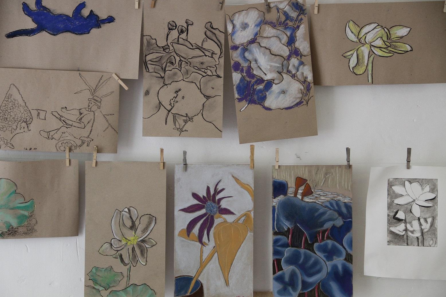 Kleine Ausstellung im Atelier