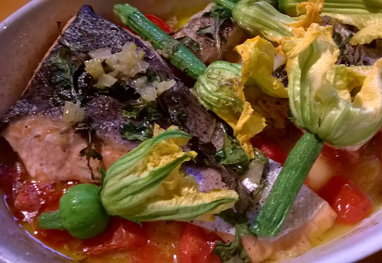 Blüten der Zucchinies, Küche der Provence, Kreative Kurse,Kreativurlaub
