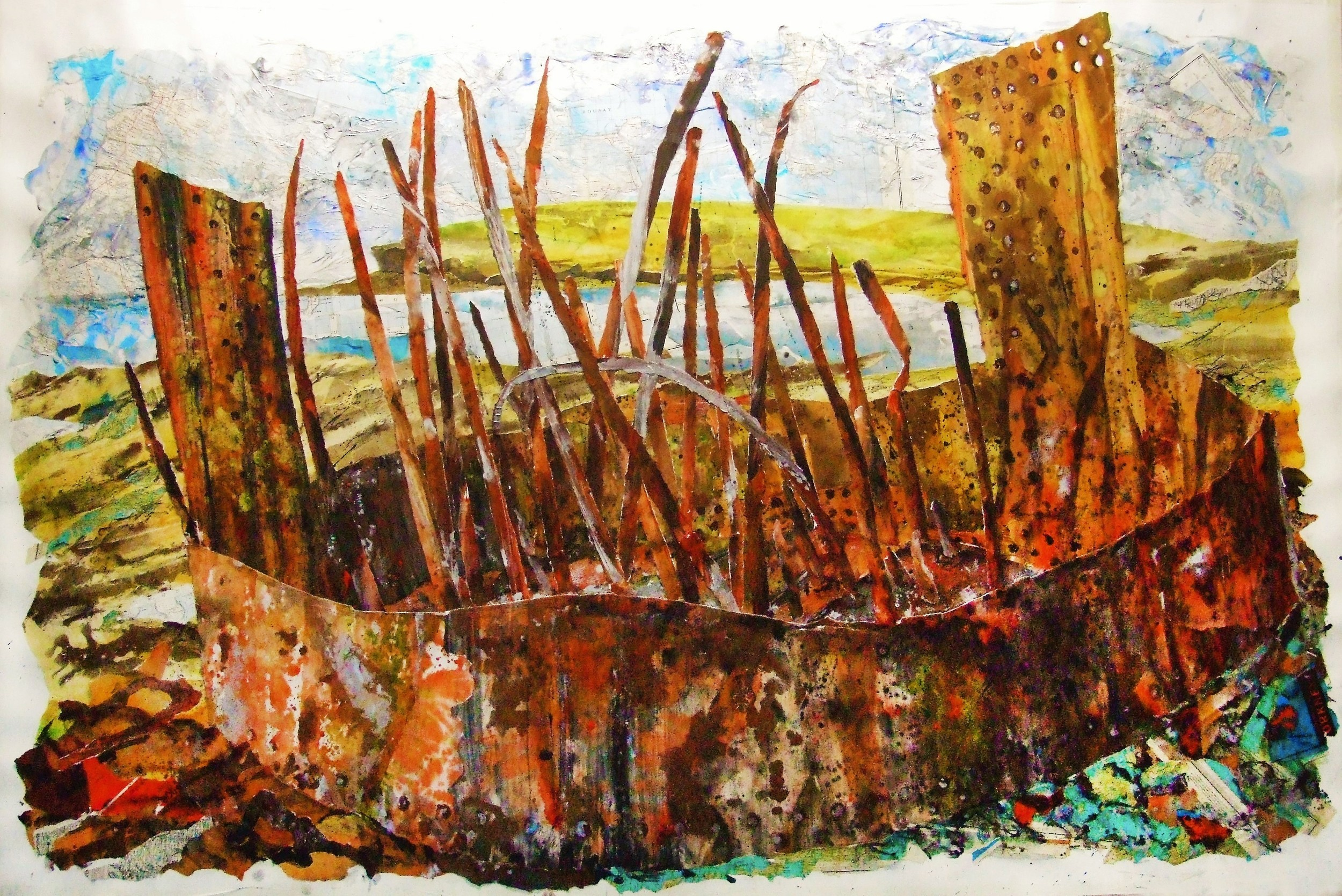 Ships Boiler, Marwick Bay, Orkney