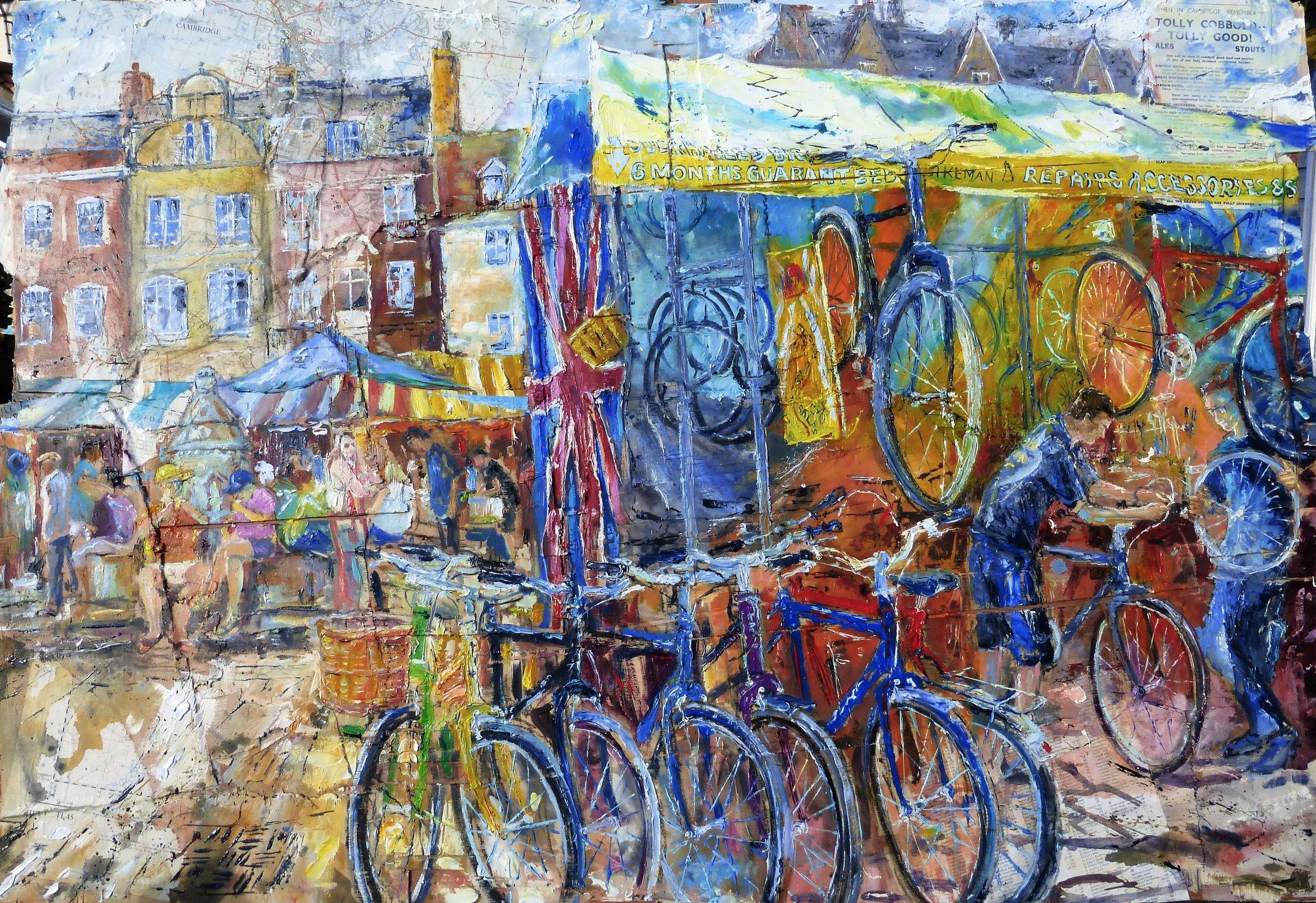 Market Hill, The Bikeman, Cambridge