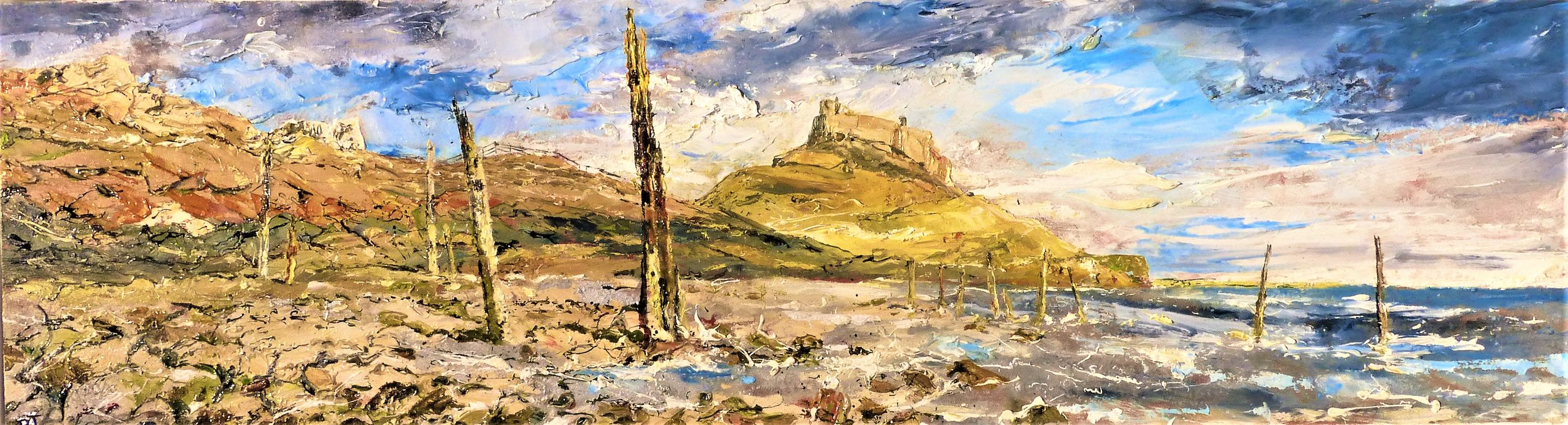 Lindisfarne Castle, Northumbria