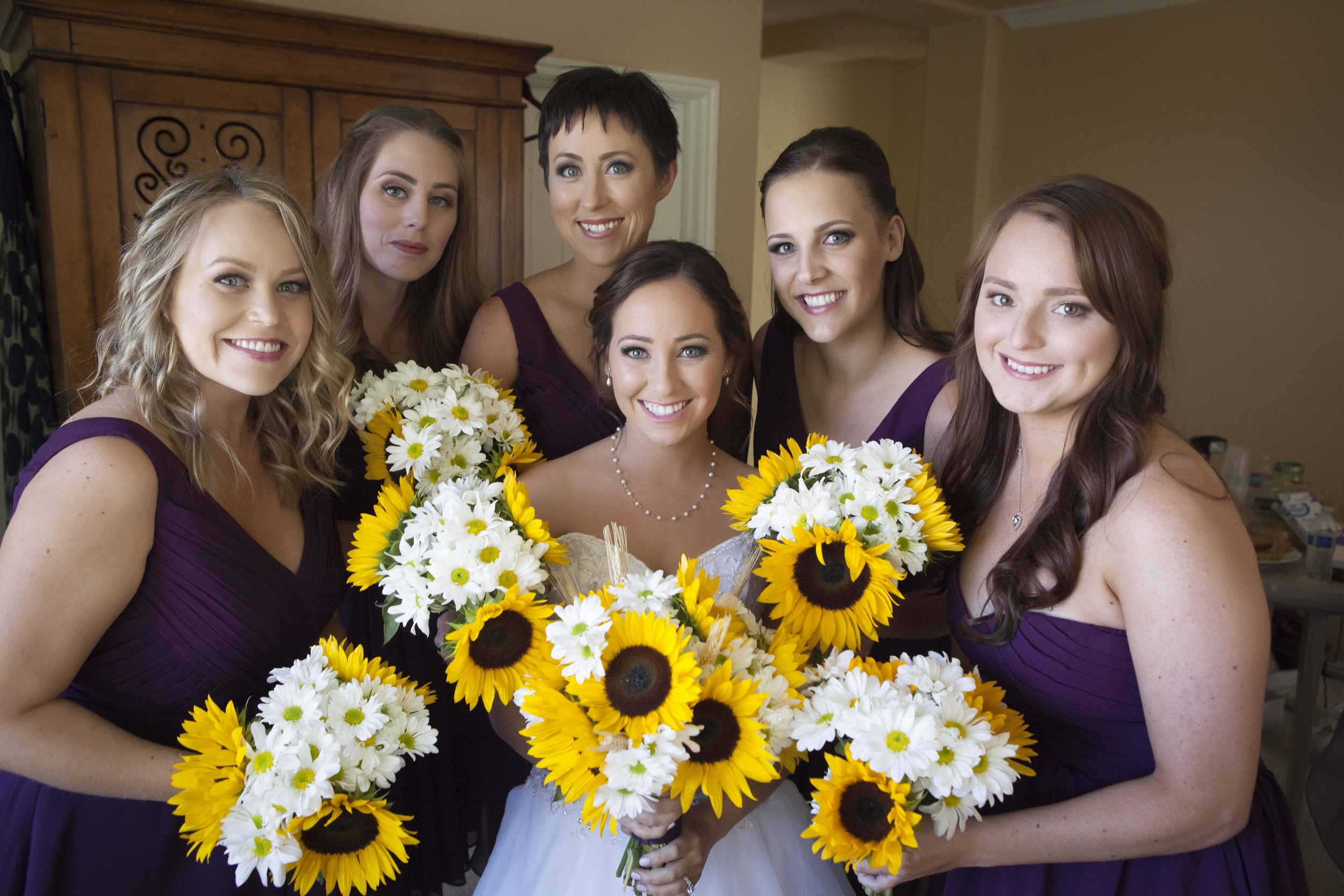 We always enjoy being a part of the joy the bridesmaids share with the bride.