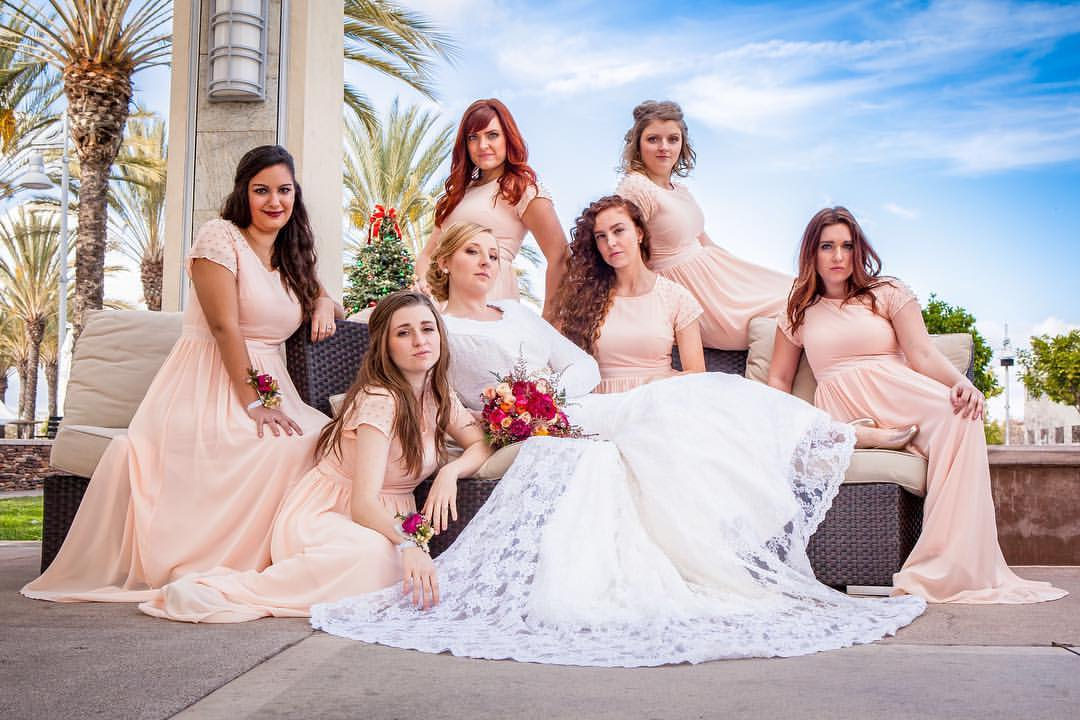 We're so fancy!!!  #Bride #Bridesmaids #WeddingDay #Fancy #Wedding #Marriage #WeddingPhotography #WeddingPhotographer #OrangeCountyWeddingPhotographer #WeddingPlanner #OrangeCountyWeddingPlanner #NewportBeach #marinerschurch