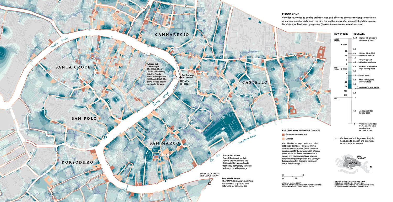 Venice versus the Sea: Flood Zone