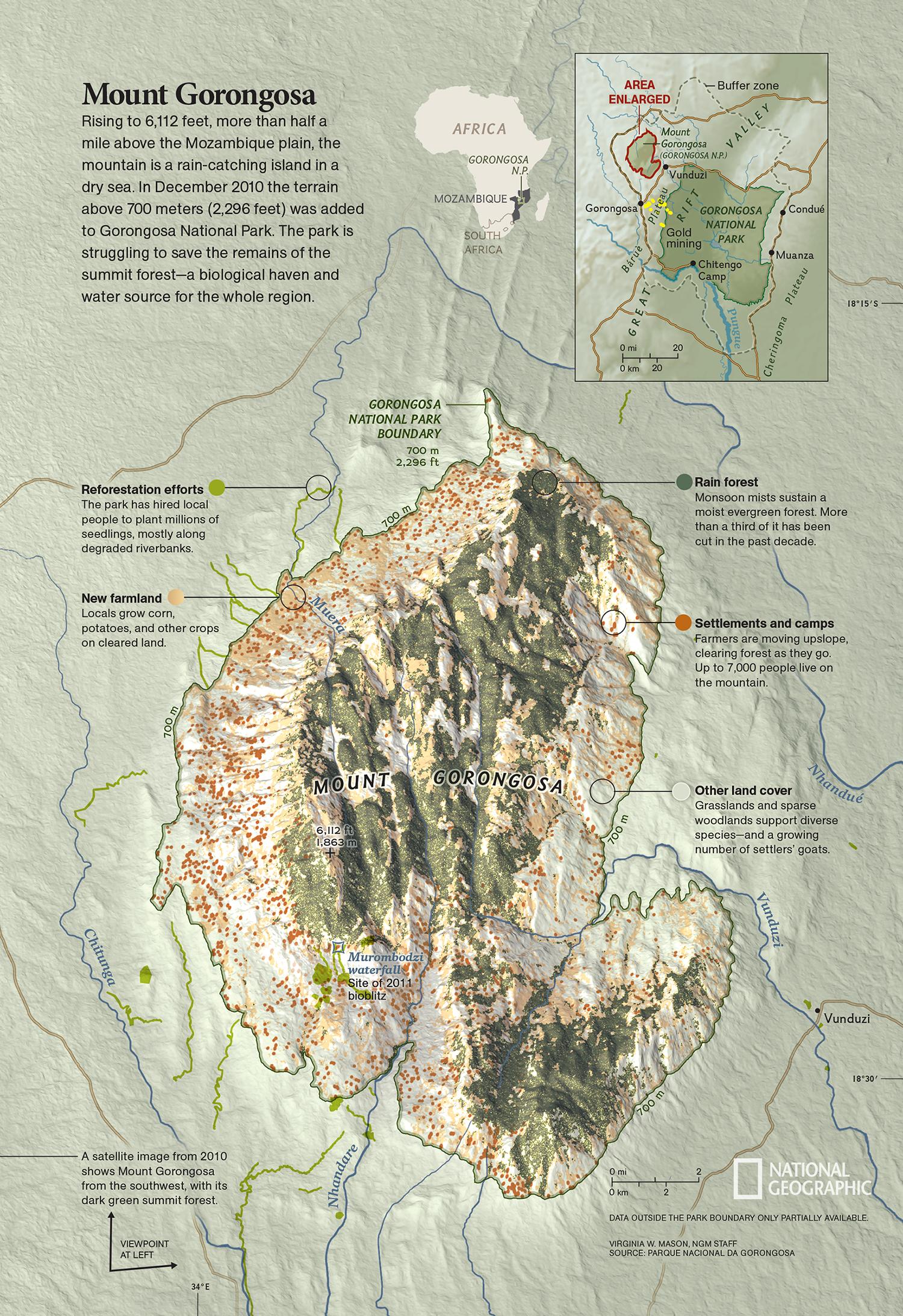 Mount Gorongosa