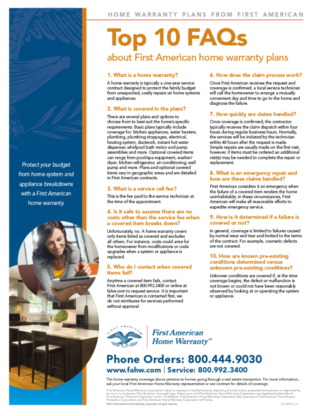 Top 10 Home Warranty Facts