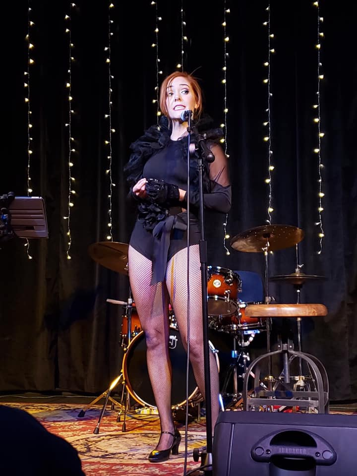Life is a Cabaret - Corrie sings in the third installment of the Texas Lassies concert series. She was joined by the Andy Hackbarth Band, for a night filled with the grit of cabaret, the tomfoolery of Donizetti, the hope of Adam Guettel, and the love of the 70s!