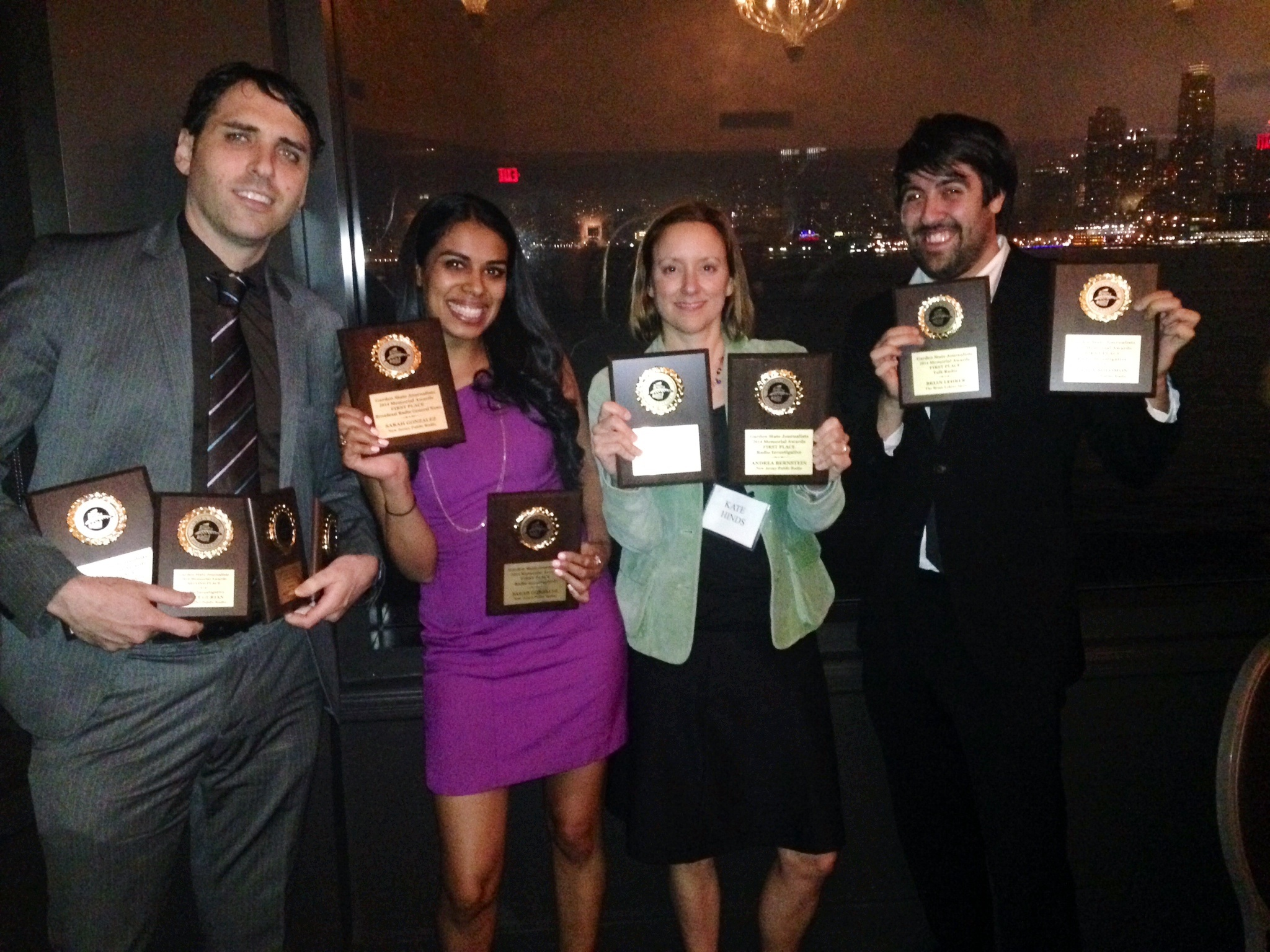 2014 Garden State Journalists Association awards